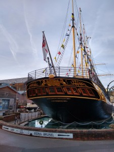 Le titanic ..?? non le  SS « Great Britain »