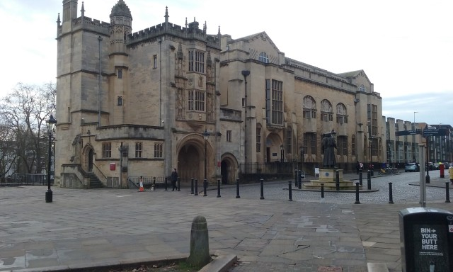 Bibliothèque centrale de Bristol.