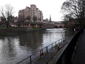 Rivière Avon avec son pont Pultenay bridge