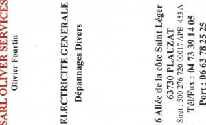 Electricité-Olivier FOURTIN