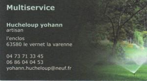 Multiservices-Hucheloup Yohann
