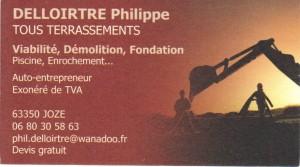 Terrassements-Ph.DELLOIRTRE