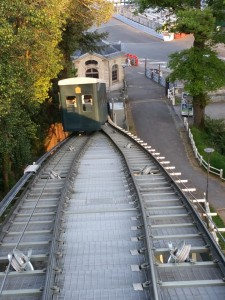 Funiculaire haut