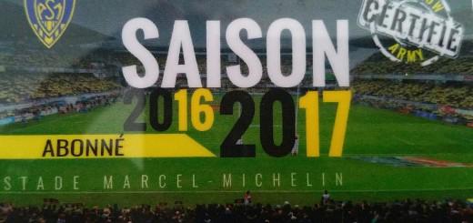 carte abonné ASM 2016.2017